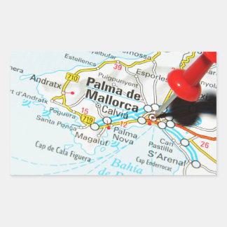 Sticker Rectangulaire Palma de Majorque, Espagne
