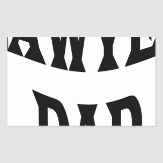 STICKER RECTANGULAIRE PAPA D'AVOCAT