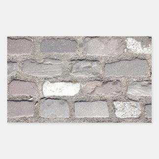 Sticker Rectangulaire pierres de pavé