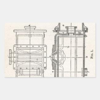 Sticker Rectangulaire Pocletbook du mécanicien