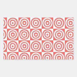 Sticker Rectangulaire Points
