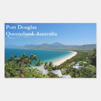 Sticker Rectangulaire Port Douglas