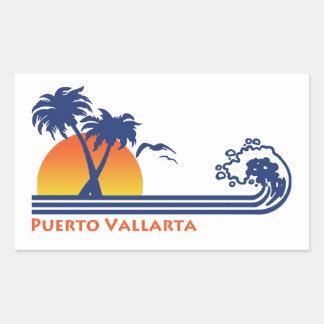 Sticker Rectangulaire Puerto Vallarta Mexique