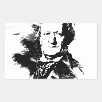 Sticker Rectangulaire Richard Wagner