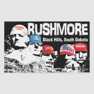 Sticker Rectangulaire Rushmore