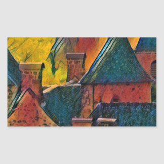 Sticker Rectangulaire SAINT-VINCENT DE SALERSCello