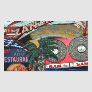 Sticker Rectangulaire Signes de Toronto