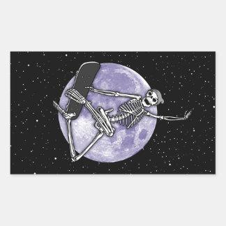 Sticker Rectangulaire Squelette de conseil