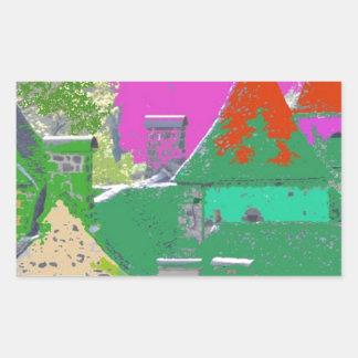 Sticker Rectangulaire stvincent-couleurs aleatoires