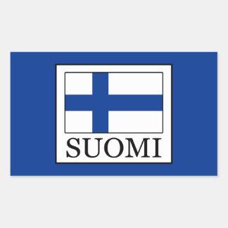 Sticker Rectangulaire Suomi