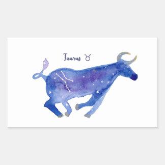 Sticker Rectangulaire Taureau I