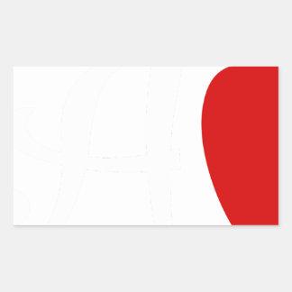 Sticker Rectangulaire teach2