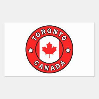 Sticker Rectangulaire Toronto Canada