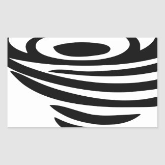 Sticker Rectangulaire Tourbillon