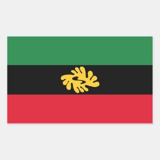 Sticker Rectangulaire Union d'autocollant d'Etats africains