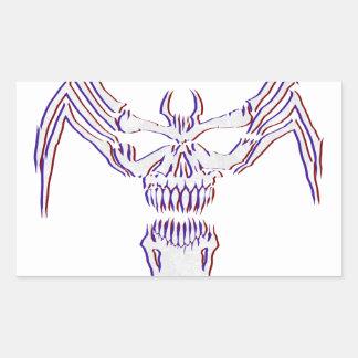 Sticker Rectangulaire Venimeux