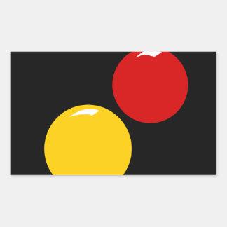 Sticker Rectangulaire Vénus et Mars