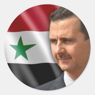 Sticker Rond بشارالاسد de Bashar Al-Assad