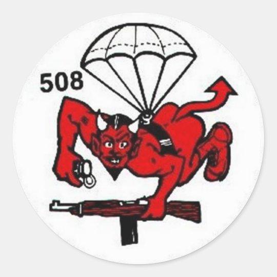 Sticker Rond 508th PIR