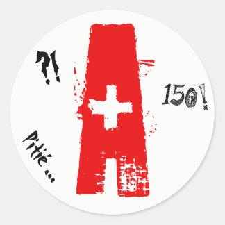 Sticker Rond A jeune permis