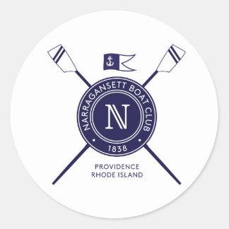 Sticker Rond Adhésif pour pare-chocs rond de NBC