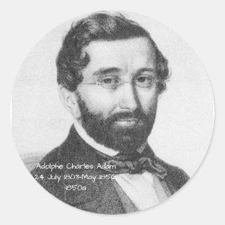 Sticker Rond Adolphe Charles Adam, 1850a
