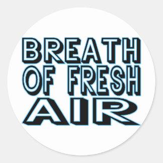 Sticker Rond Air frais