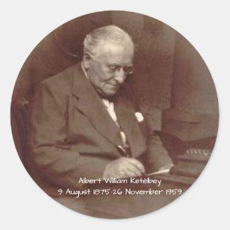 Sticker Rond Albert William Ketelbey