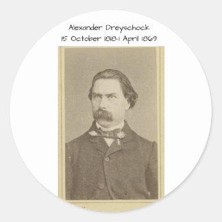 Sticker Rond Alexandre Dreyschock