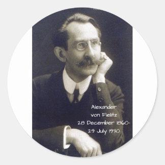 Sticker Rond Alexandre von Fielitz