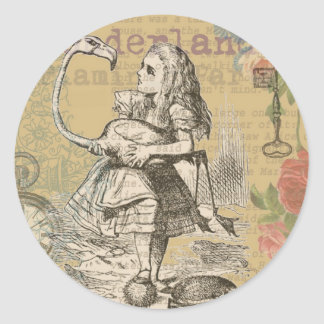 Autocollants stickers chat de cheshire personnalis s for Alice dans le miroir balthus