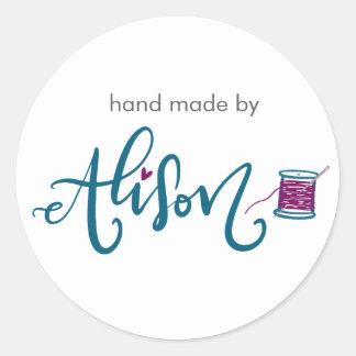 Sticker Rond Alison