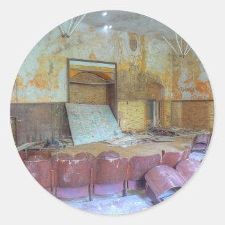 Sticker Rond Amphithéâtre 01,0, endroits perdus, Beelitz