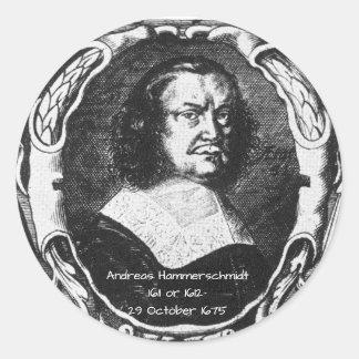 Sticker Rond Andreas Hammerschmidt