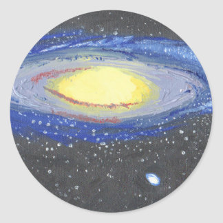 Sticker Rond Andromeda