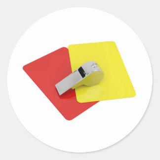 Sticker Rond Attributs d'arbitre