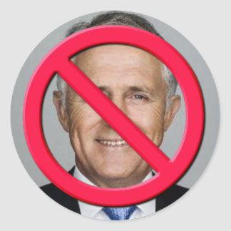 Sticker Rond Aucun Turnbull