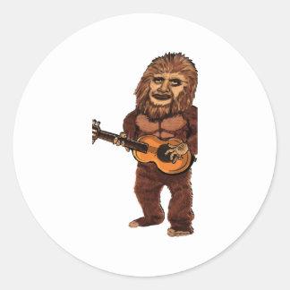 Sticker Rond Ballade de Bigfoot