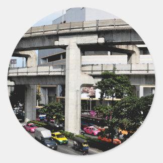 Sticker Rond Bangkok