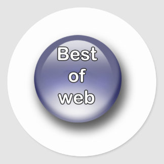 Sticker Rond Best of Web