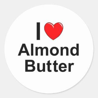 Sticker Rond Beurre d'amande