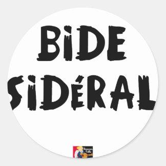 STICKER ROND BIDE SIDÉRAL