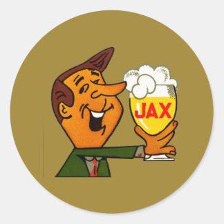 Sticker Rond Bière de Jax