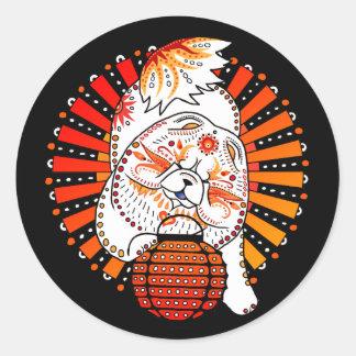 Sticker Rond BINDI MI TANG - couleur faite sur commande