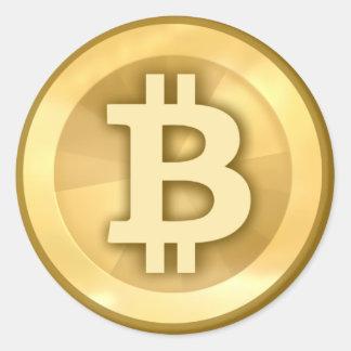 Sticker Rond Bitcoin