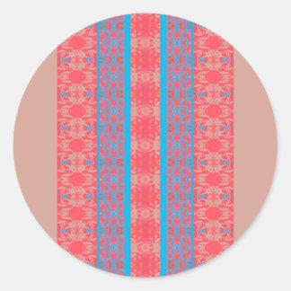 Sticker Rond bleu