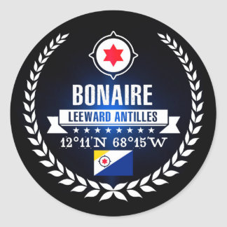 Sticker Rond Bonaire