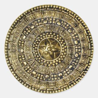 Sticker Rond Bouclier romain