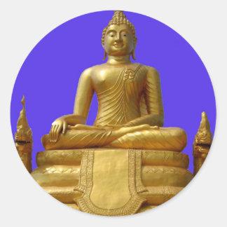 Sticker Rond Bouddha