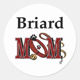Sticker Rond Cadeaux de maman de Briard